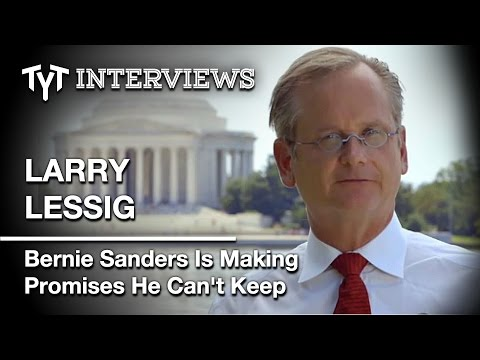"Larry Lessig Says Bernie Sanders Is Caught Up In ""Fantasy Politics."" Int. w/ Cenk Uygur (edited)"
