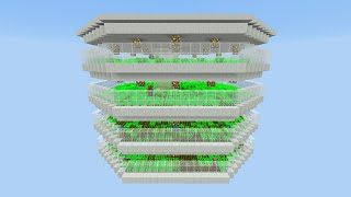 Minecraft 1.8: Fully Automatic Carrot Potato Farm with Villager AI