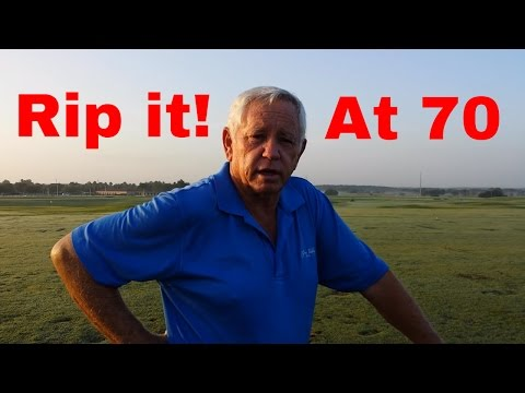 Golf Lessons – How to rip your 3 iron at 70 years old – Golf Tips from a Pro
