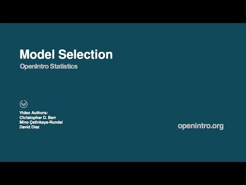 Model Selection In Multiple Regression