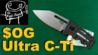SOG Ultra C-Ti Money Clip Review