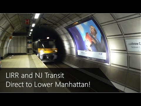 Lower Manhattan Commuter Rail Tunnel (Alignment and Stations)