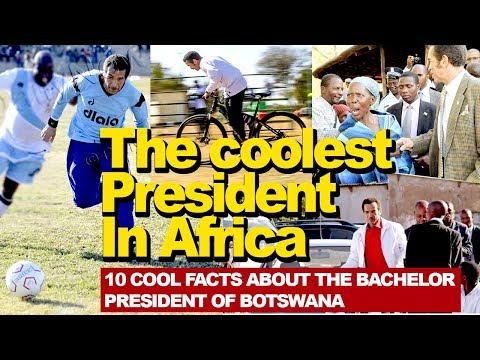 The coolest President in Africa, 10 cool facts about the Bachelor President of Botswana