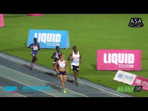 CASTER SEMENYA BREAKS THE 1000m SOUTH AFRICAN RECORD - Liquid Telecom Athletix Grand Prix 2 - 2018
