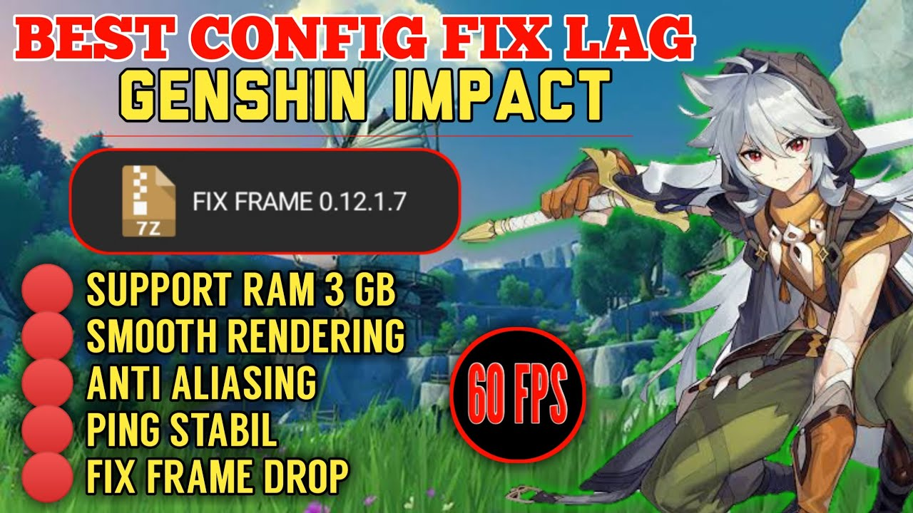 Config Genshin Impact Fix Framedrop And Render Smooth Gameplay Fix Lag Genshin Impact Youtube