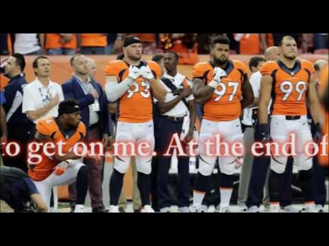 Broncos LB Brandon Marshall explains his national anthem protest