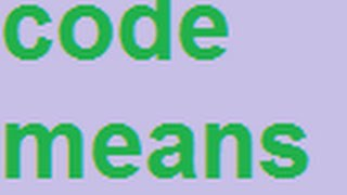 "Neely Fuller- Code Means an ""Exact Way Of Doing Anything"""