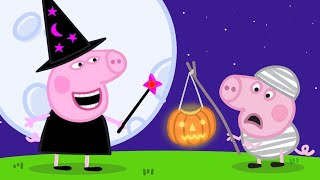 Peppa Pig Nederlands Compilatie Nieuwe Afleveringen 🎃Halloween Aankleden 🎃 Tekenfilm