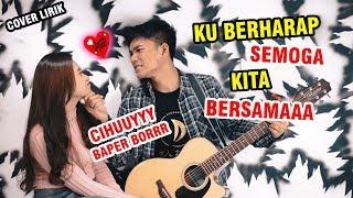 Mengharapkanmu - Tegar Septian  Lirik  Cover By Tri Suaka Ft. Tiara