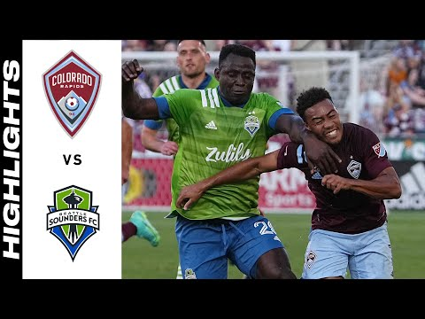 Colorado Seattle Sounders Goals And Highlights