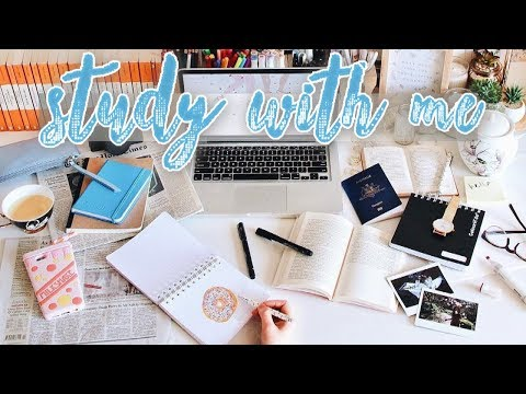 🔴 STUDY WITH ME 💯📚 - Realtime Study Session (8 HOURS or more!)