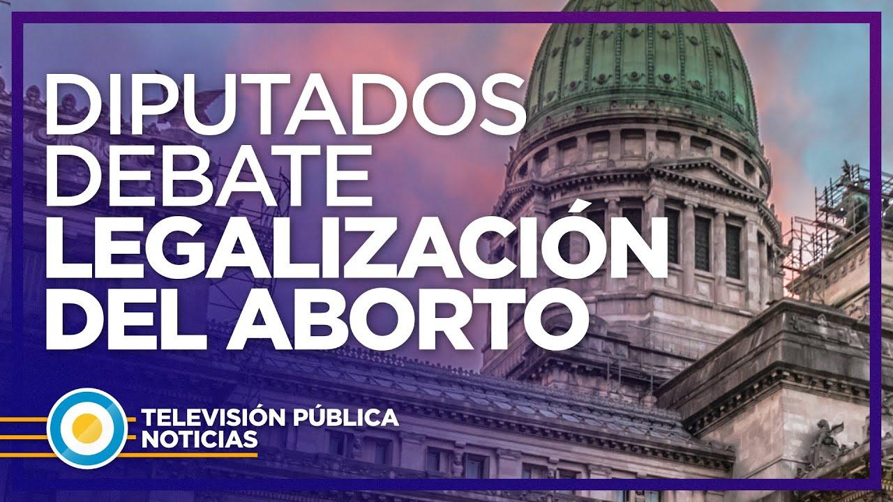 [EN VIVO] La Cámara de Diputados debate el Proyecto de Interrupción Voluntaria del Embarazo