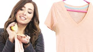 Get Rid Of Sweat Stains with Lauren Elizabeth #17Daily