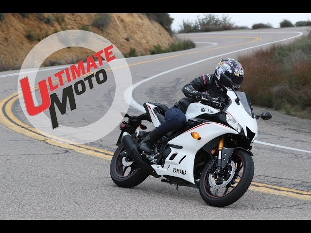 2019 Yamaha YZF-R3 First Ride Review | Ultimate Motorcycling