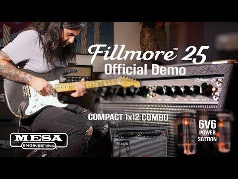 MESA/Boogie Fillmore™ 25 Official Demo