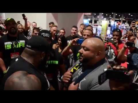 Da Hulk & Leroy Walker Confrontation Olympia 2014 CT Fletcher