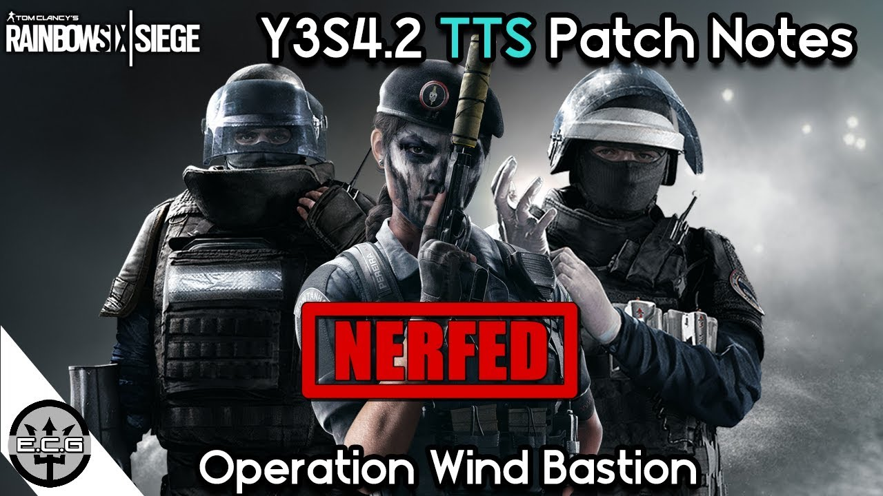 Patch notes r6 | [January 15, 2019] Test Server Patch Notes