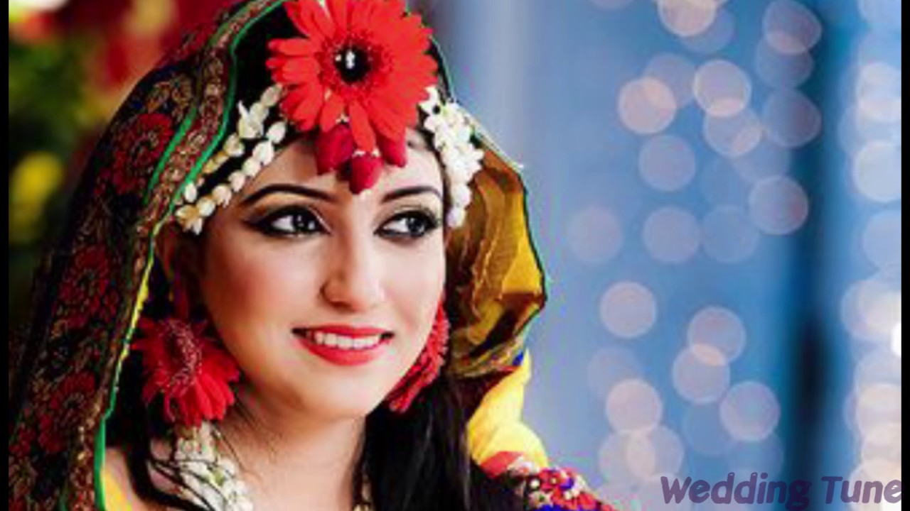 Holud Shondha Wedding Cosmetics Makeup Part 01