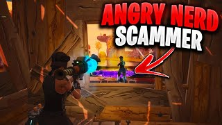 Angry RICH KID Tries To SCAM Me! (Scammer Gets Scammed) In Fortnite Save The World Pve