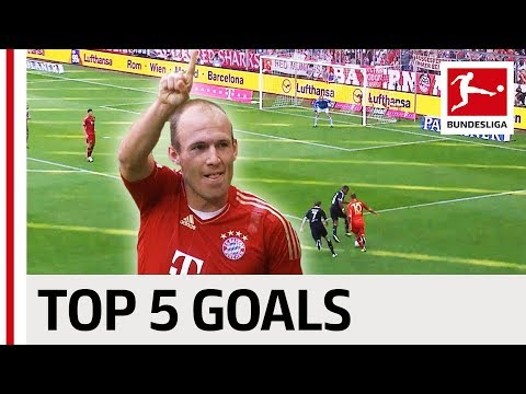 Arjen Robben - Top 5 Goals - Updated