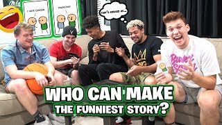 Who Can Make the Funniest Story? HILARIOUS 2HYPE CARD GAME!