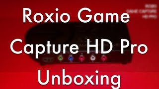 Roxio Game Capture HD Pro Unboxing - Xbox One Game Capture