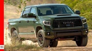 2020 Toyota TRD Pro Tundra Truck Army Green
