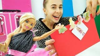 Новогодние прищепки для вечеринки. Поделки с Барби