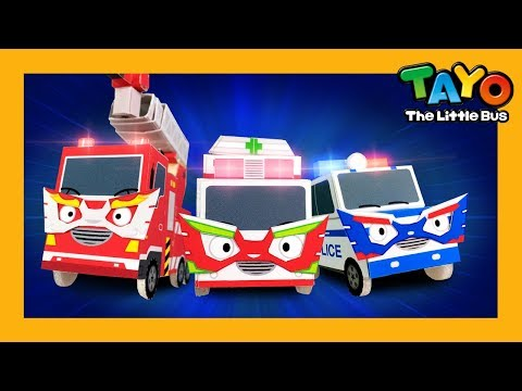Rescue Team Heroes l Car Song l Songs for Children l Tayo Songs for Children