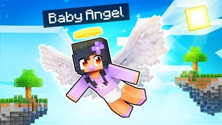 Playing Minecraft As A BABY ANGEL!