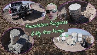 Wiring My Pump & Foundation Work