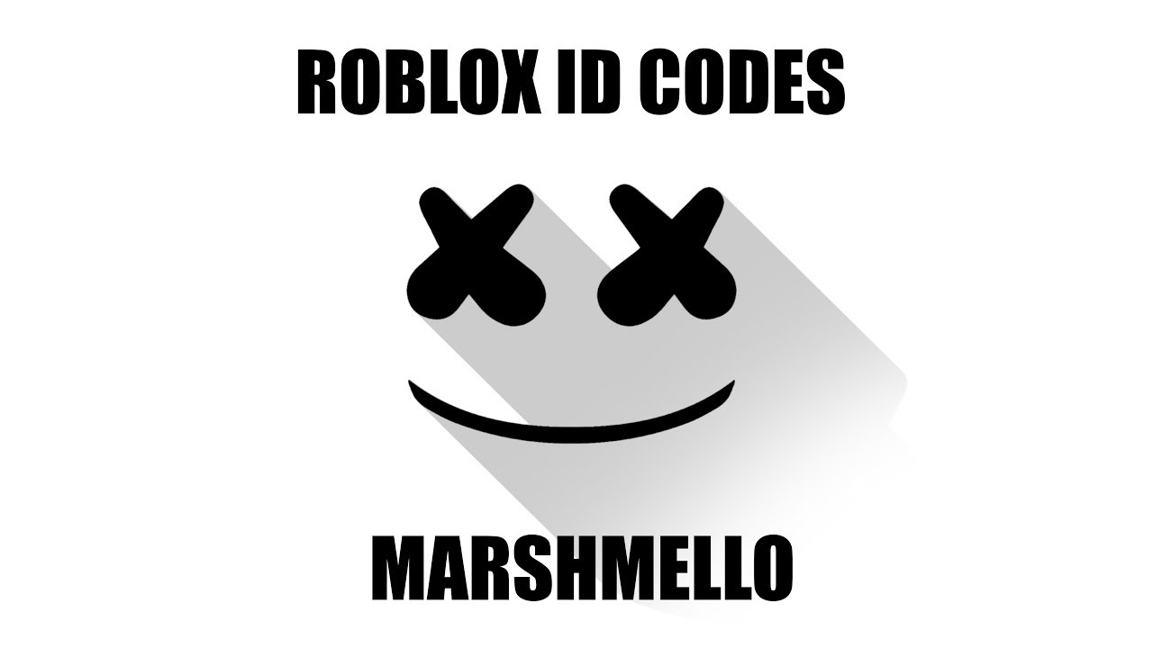 Marshmello Roblox Id Codes Youtube