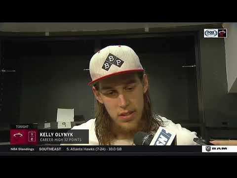 Kelly Olynyk -- Miami Heat at Boston Celtics 12/20/17