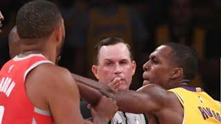 Rajon Rondo fights Chris Paul