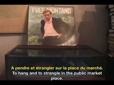 Yves Montand La Complainte de Mandrin Mandrin's Lament French & English Subtitles