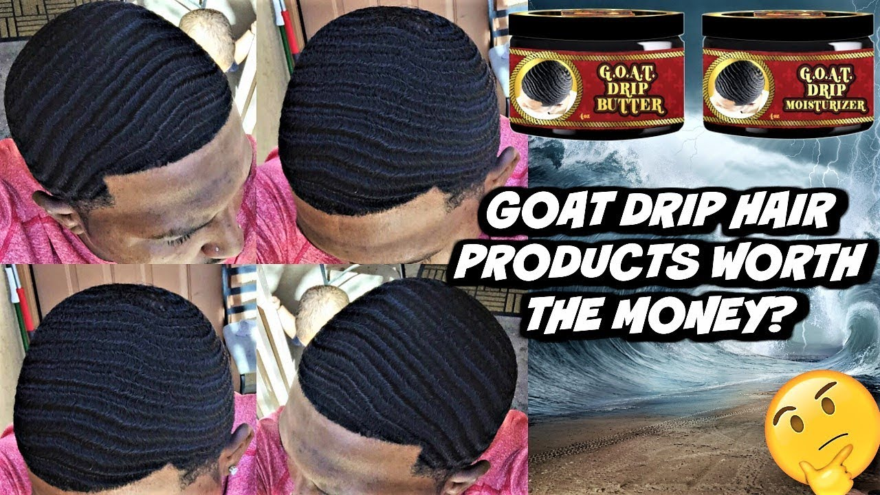 POPPY BLASTED NEW (GOAT DRIP HAIR PRODUCTS) ARE THEY WORTH IT!? #1