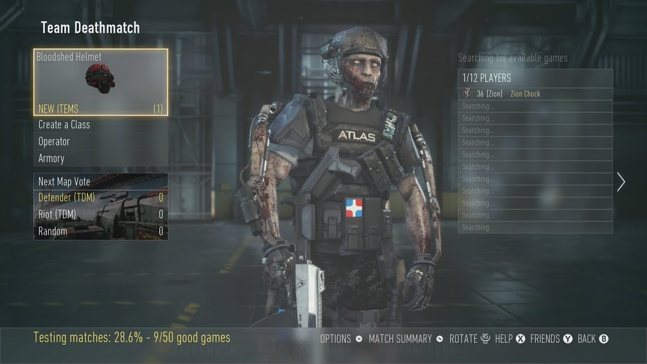 cod advanced warfare how to get zombie face