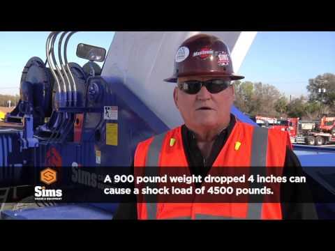 Ocala Cranes - Improper Rigging - (352) 867-5438  Sims Cranes And Heavy Equipment