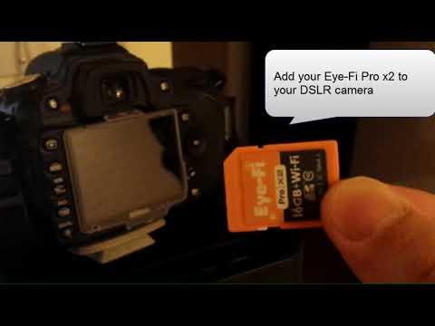 Eye-fi SD card