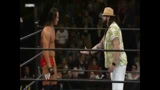 WWE Bray Wyatt Attacks His Brother Bo Dallas (1st on youtube)