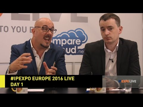 #IPEXPO Europe 2016 Live - Day 1 - IP EXPO | Disruptive