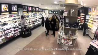 Perfumerías de la Uz y LEDPLUS de Gas Natural Fenosa
