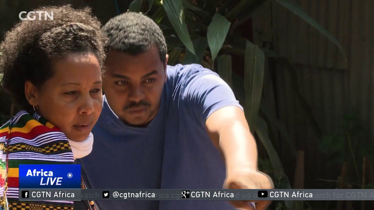 CGTN: Ethiopian Artist Uses Talent to Promote Environmental Conservation