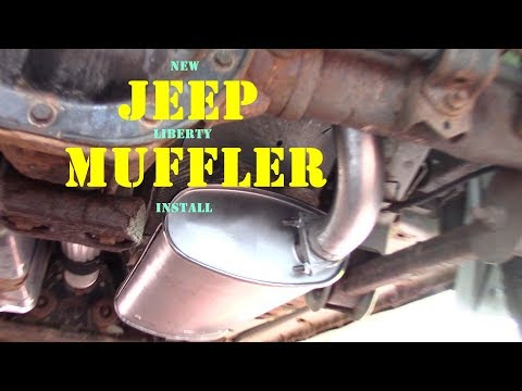 Jeep Muffler and Resonator replacement. Easy DIY
