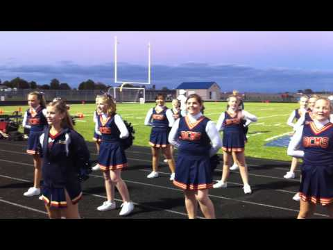 Belvidere North Central Middle School Poms at North High Schools homecoming 2010