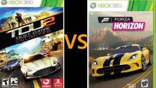 Forza Horizon VS Test Drive Unlimited 2
