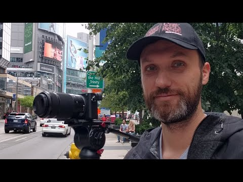 Live in Toronto with Sony a6500