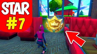Fortnite Season 10 Week 7 Secret Battle Star Location - Season X Secret Star Location