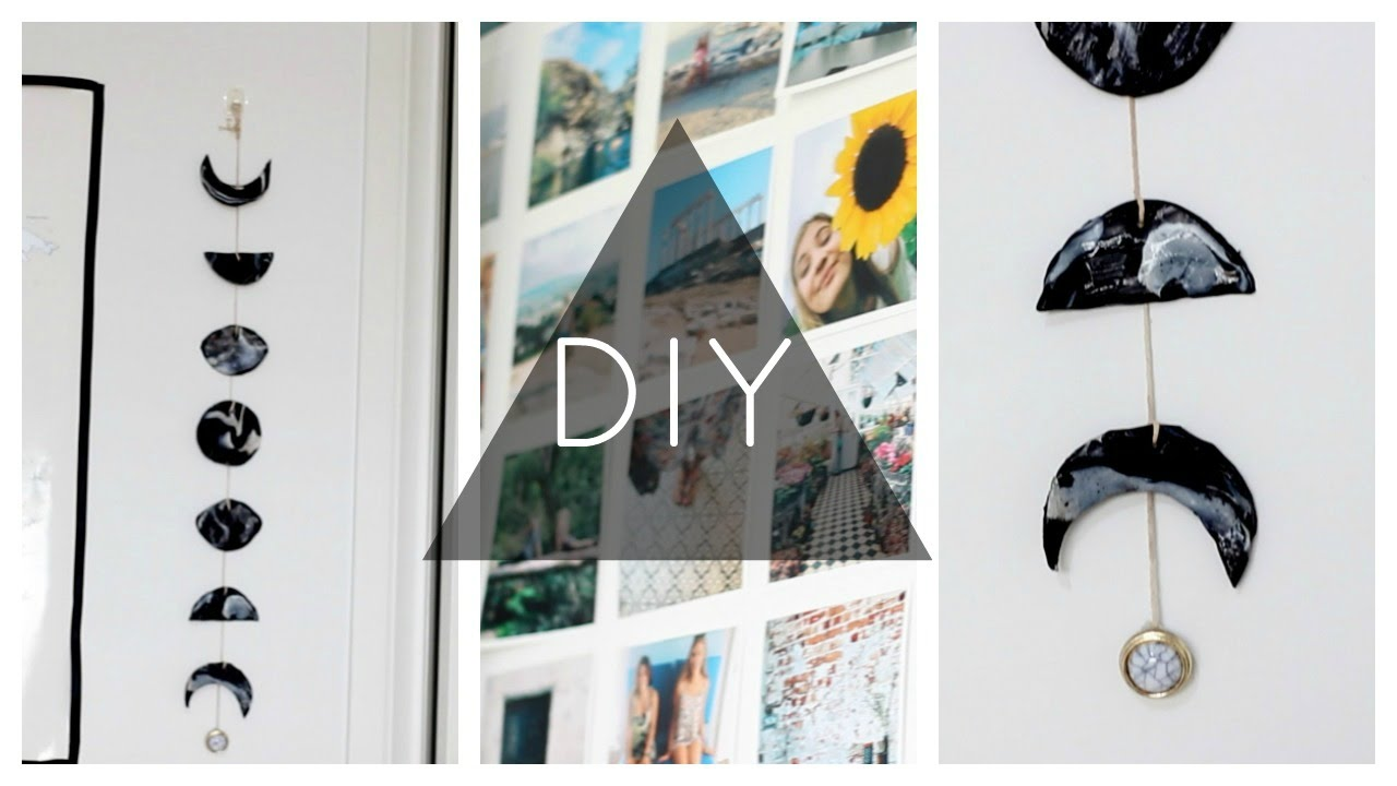 Diy Moon Calendar : Diy phases of the moon marble wall hanging youtube