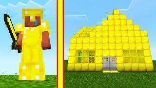 - НУБ против ДОМ ЛОВУШКА из ЗОЛОТА в Майнкрафт Видео для детей Minecraft летсплей Матвей Котофей MCP